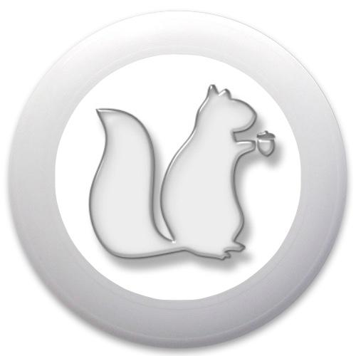 Squirrel Ultimate Frisbee Innova Pulsar Custom Ultimate Disc