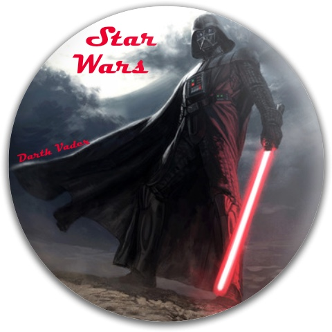 Darth Vader Dynamic Discs Fuzion Felon Driver Disc