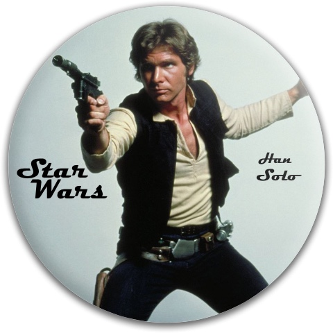 Han Solo Dynamic Discs Fuzion Felon Driver Disc