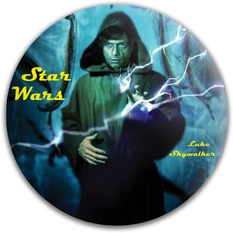 Luke Skywalker Dynamic Discs Fuzion Felon Driver Disc
