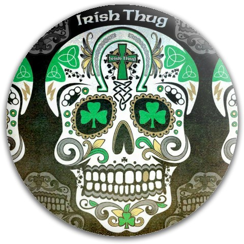 Irish Thug 2 Dynamic Discs Fuzion Judge Putter Disc
