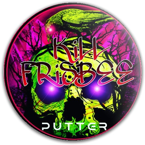 KILL FRISBEE PUTTER WS Dynamic Discs Fuzion Judge Putter Disc