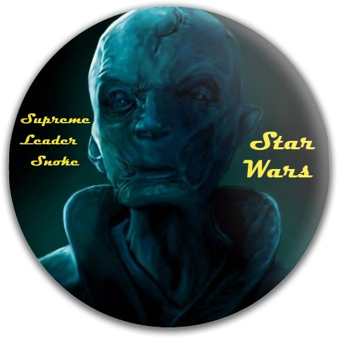 Supreme Leader Snoke Dynamic Discs Fuzion Defender Driver Disc