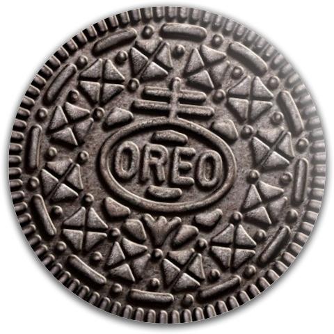 Oreo Cookie Dynamic Discs Fuzion Judge Putter Disc