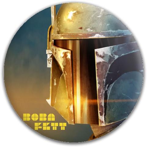 Boba fett Dynamic Discs Fuzion Suspect Midrange Disc