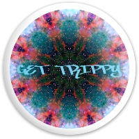 Get trippy Dynamic Discs Fuzion Enforcer Driver Disc