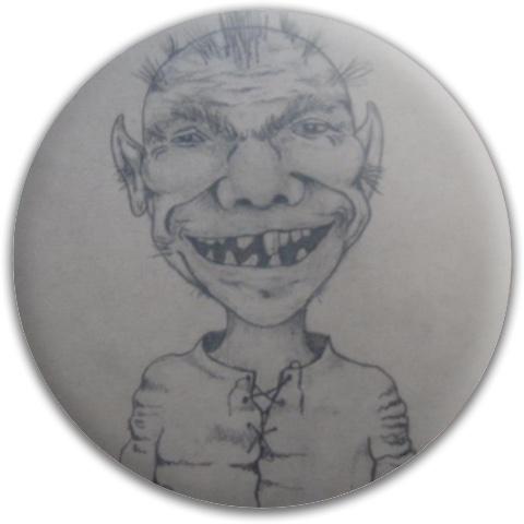 Little man Dynamic Discs Fuzion Judge Putter Disc
