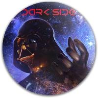 Dark Side Dynamic Discs Fuzion Judge Putter Disc