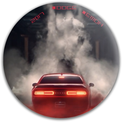 Dodge Demon Dynamic Discs Fuzion Judge Putter Disc