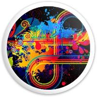 speedo Latitude 64 Gold Line Knight Driver Disc