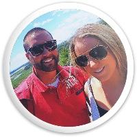 Dustin & Heather Dynamic Discs Fuzion Sheriff Driver Disc