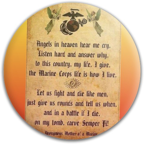 Marine prayer Dynamic Discs Fuzion Judge Putter Disc