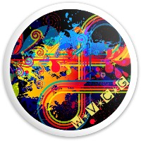 Classic Mojo Dynamic Discs Fuzion Sheriff Driver Disc