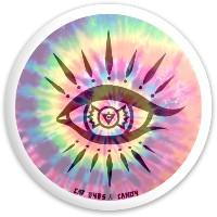CE&C - Tie Dye Dynamic Discs Fuzion Defender Driver Disc