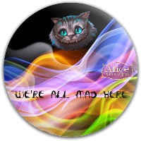 Cheshire Cat Dynamic Discs Fuzion Warden Putter Disc