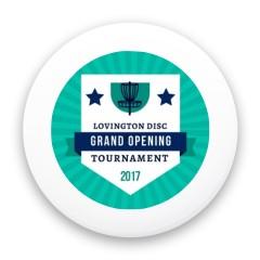 LDGC Grand Opening Custom Mini Ultimate Disc