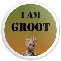I am Groot Dynamic Discs Fuzion Freedom Driver Disc