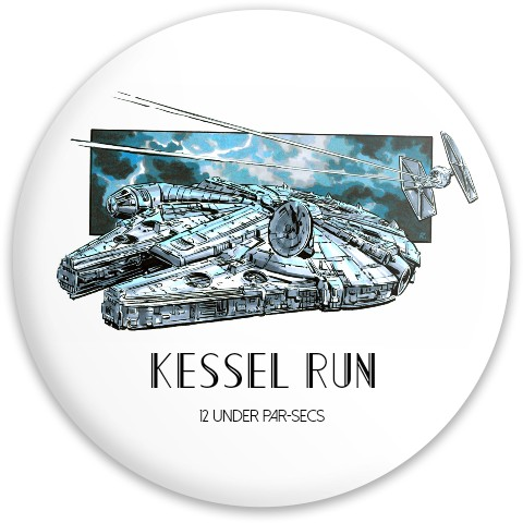 Kessel run 12 under par Dynamic Discs Fuzion Trespass Driver Disc