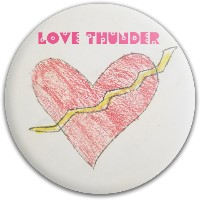 Love Thunder Dynamic Discs Fuzion Judge Putter Disc