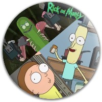 Rick and Morty Disc Dynamic Discs Fuzion Judge Putter Disc