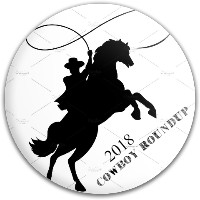 2018 Cowboy Roundup Latitude 64 Gold Line Gauntlet Putter
