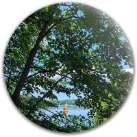 Zach sailing photo Latitude 64 Gold Line Anchor Midrange Disc