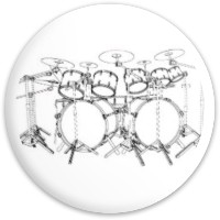 Drums set driver 2 Latitude 64 Gold Line Scythe Driver Disc