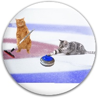 Kitty curling Latitude 64 Spark Driver Disc