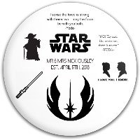 Starwars Wedding Gift to Groom Dynamic Discs Fuzion Criminal Driver Disc