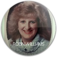 Robin Williams our Lord and savior Westside Tournament Harp Putter Disc