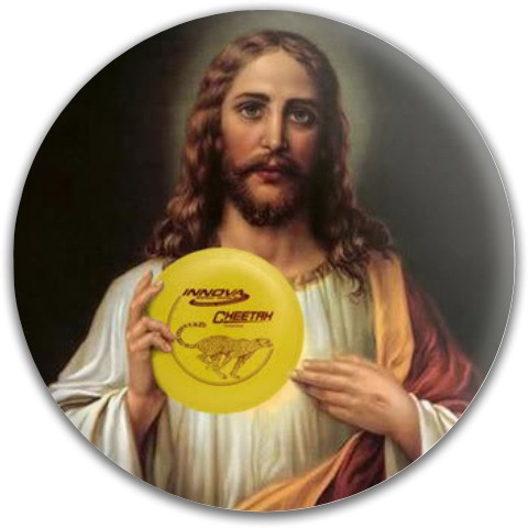 Jesus Latitude 64 Gold Line Gauntlet Putter Disc