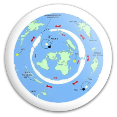 Ancient Flat Earth Discraft Buzzz Midrange Disc