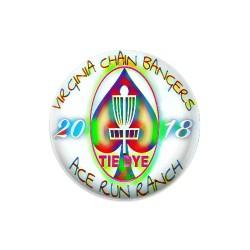 Tie Dye Tournament Dynamic Discs Judge Mini Disc Golf Marker