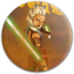 Ahsoka putter Dynamic Discs Fuzion Judge Putter Disc