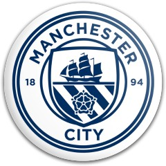 Manchester City Dynamic Discs Fuzion Judge Putter Disc