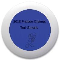 Turf smurfs Discraft Ultrastar Ultimate Frisbee