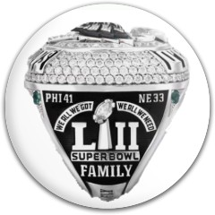 Eagles WS Putter with ring logo Westside Discs TP Shield Putter Disc