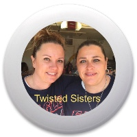 Twisted sisters Discraft Ultrastar Ultimate Frisbee