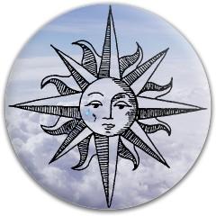 Sad Sun Dynamic Discs Fuzion Criminal Driver Disc