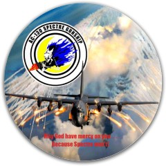 AC-130 Spectre Gunship (US Air Forc Dynamic Discs Fuzion Warden Putter Disc