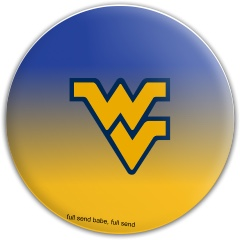 WVU disc Latitude 64 Gold Line Anchor Midrange Disc