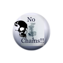 No Chains discgolf club Dynamic Discs Judge Mini Disc Golf Marker