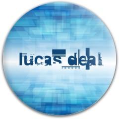 Lucas Dynamic Discs Fuzion Judge Putter Disc
