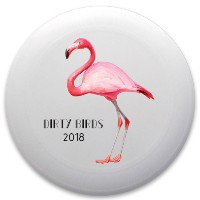 Jordan's Dirty Birds Discraft Ultrastar Ultimate Frisbee