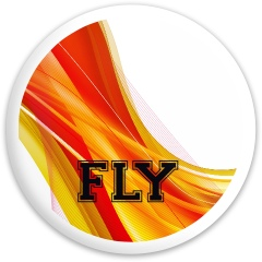 FLY Dynamic Discs Fuzion Sheriff Driver Disc