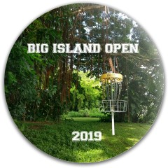 Big Island Open 2019 Dynamic Discs Fuzion Sheriff Driver Disc