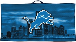 Detroit Lions Towel Custom Disc Golf Towel