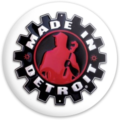 Made in Detroit tat replica Dynamic Discs Fuzion Freedom Driver Disc