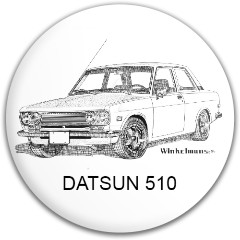 DATSUN 510 Latitude 64 Gold Line Mercy Putter Disc