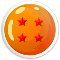4 Star Dragonball Dynamic Discs Fuzion Enforcer Driver Disc